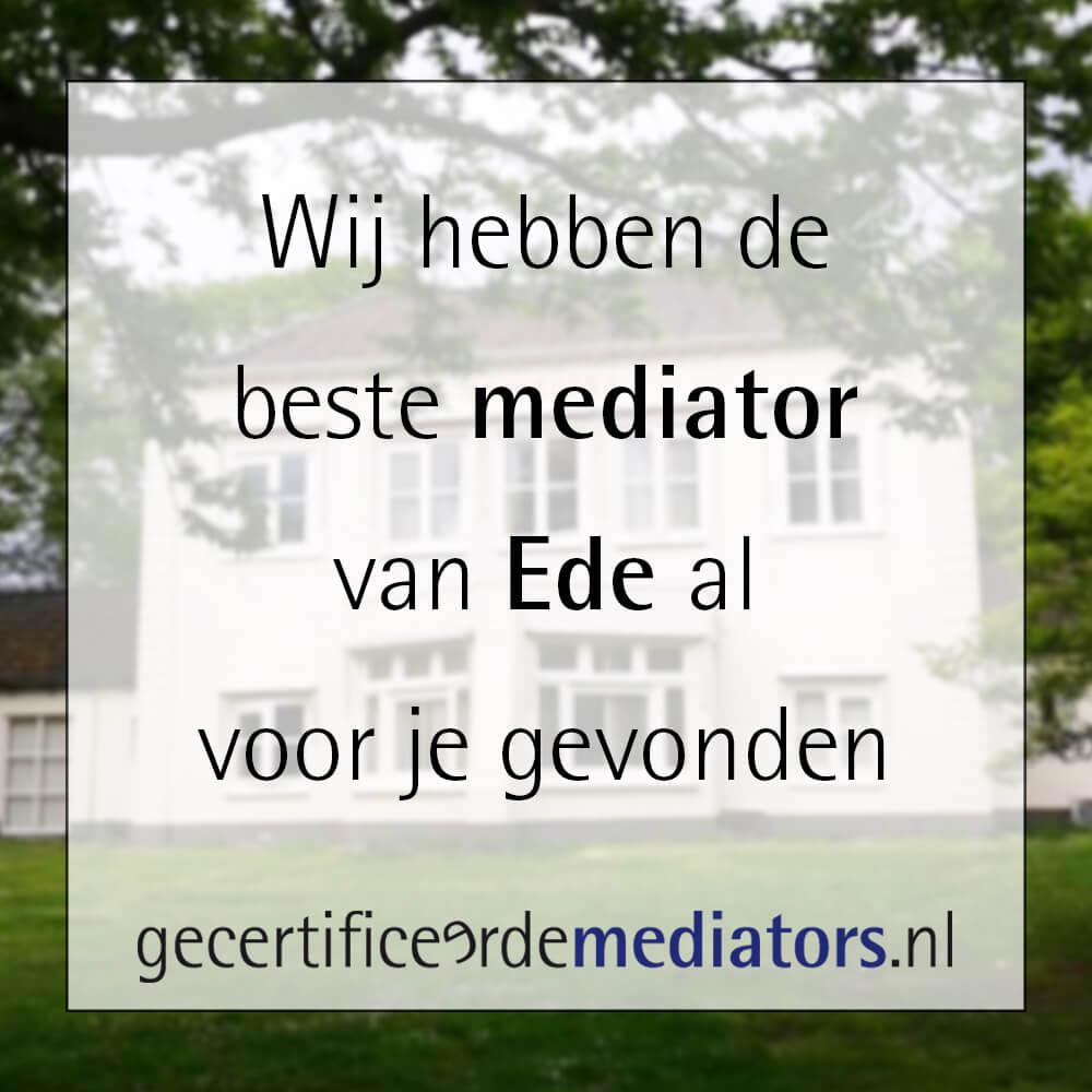 mediator ede echtscheiding