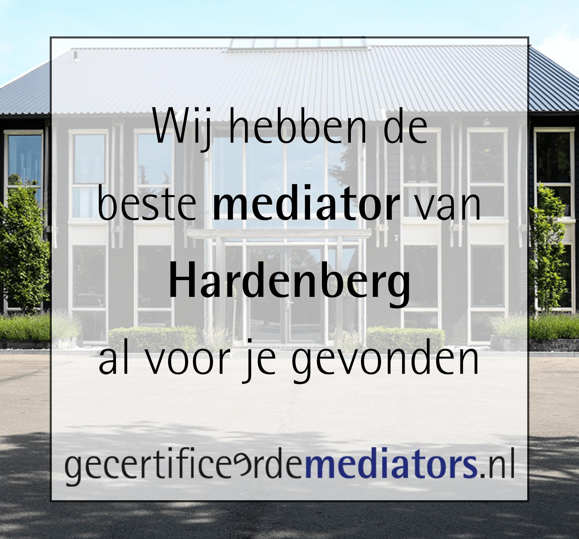 mediator hardenberg echtscheiding
