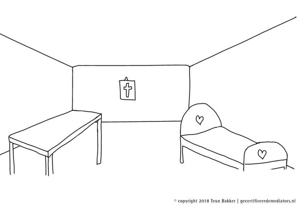 scheiden van tafel en bed