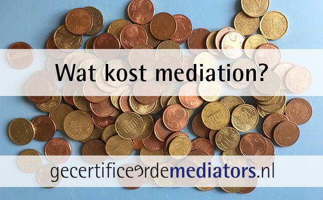 kosten mediation uurtarief mediator
