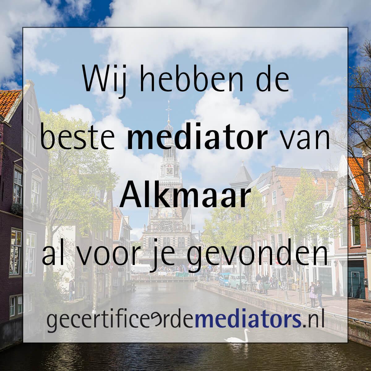 mediator alkmaar