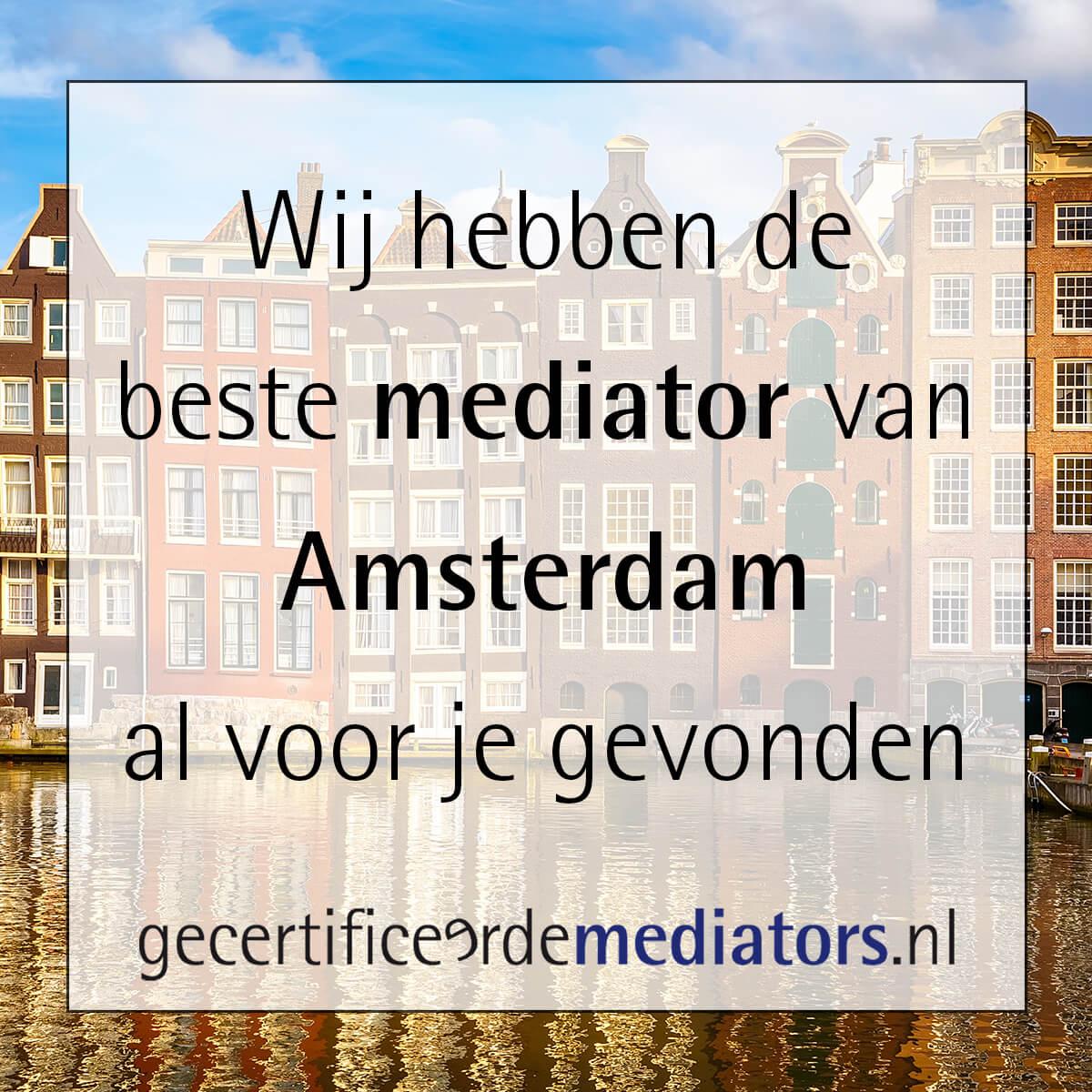 mediator amsterdam echtscheiding