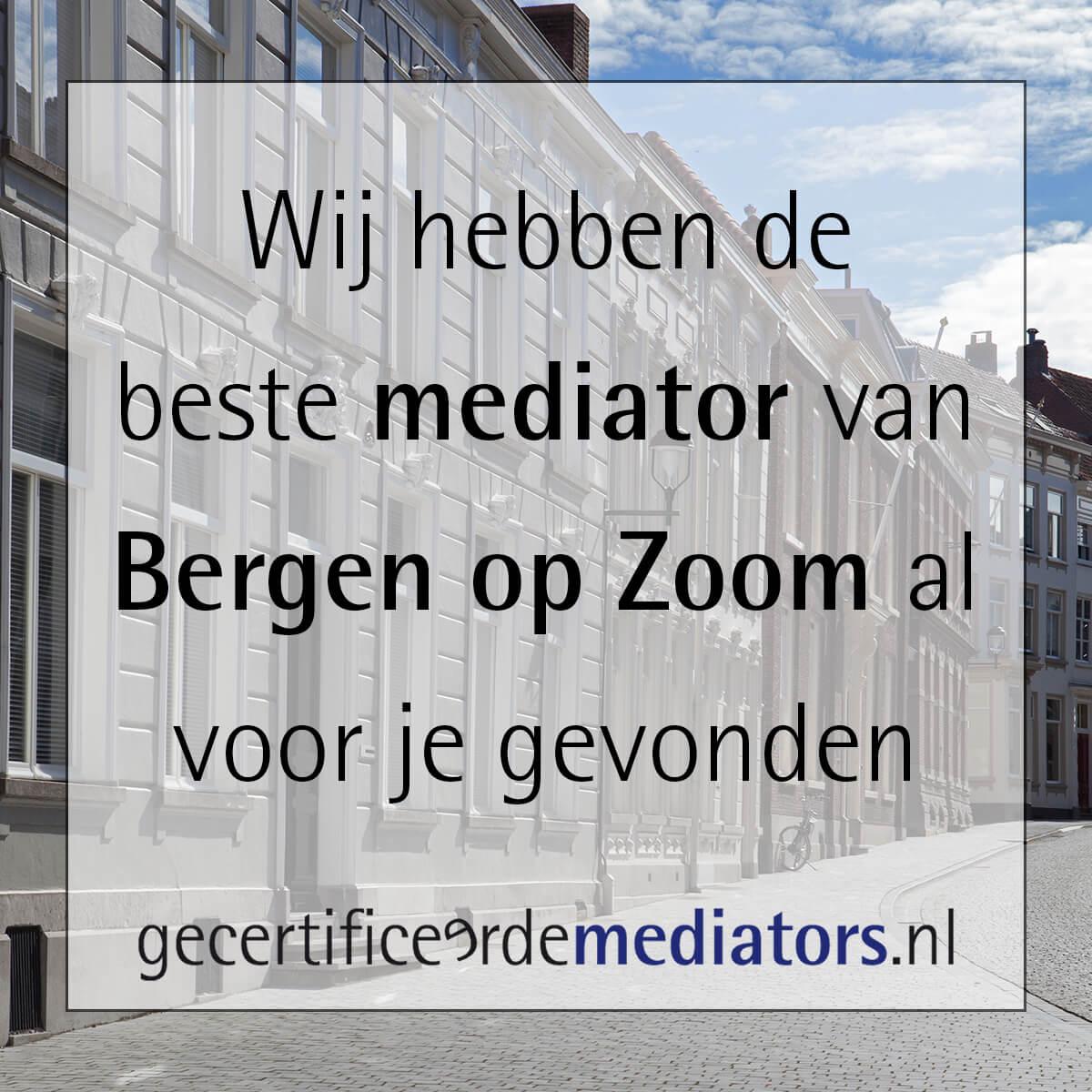 mediator bergen op zoom