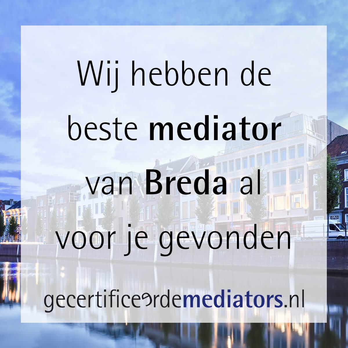 mediator breda echtscheiding