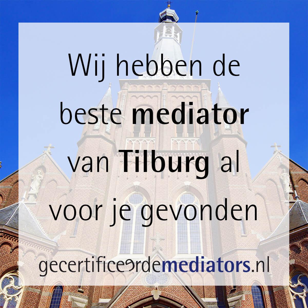 mediator tilburg echtscheiding