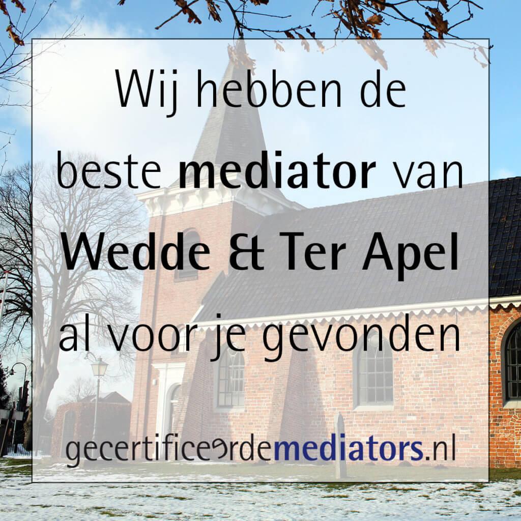 mediator wedde ter apel echtscheiding