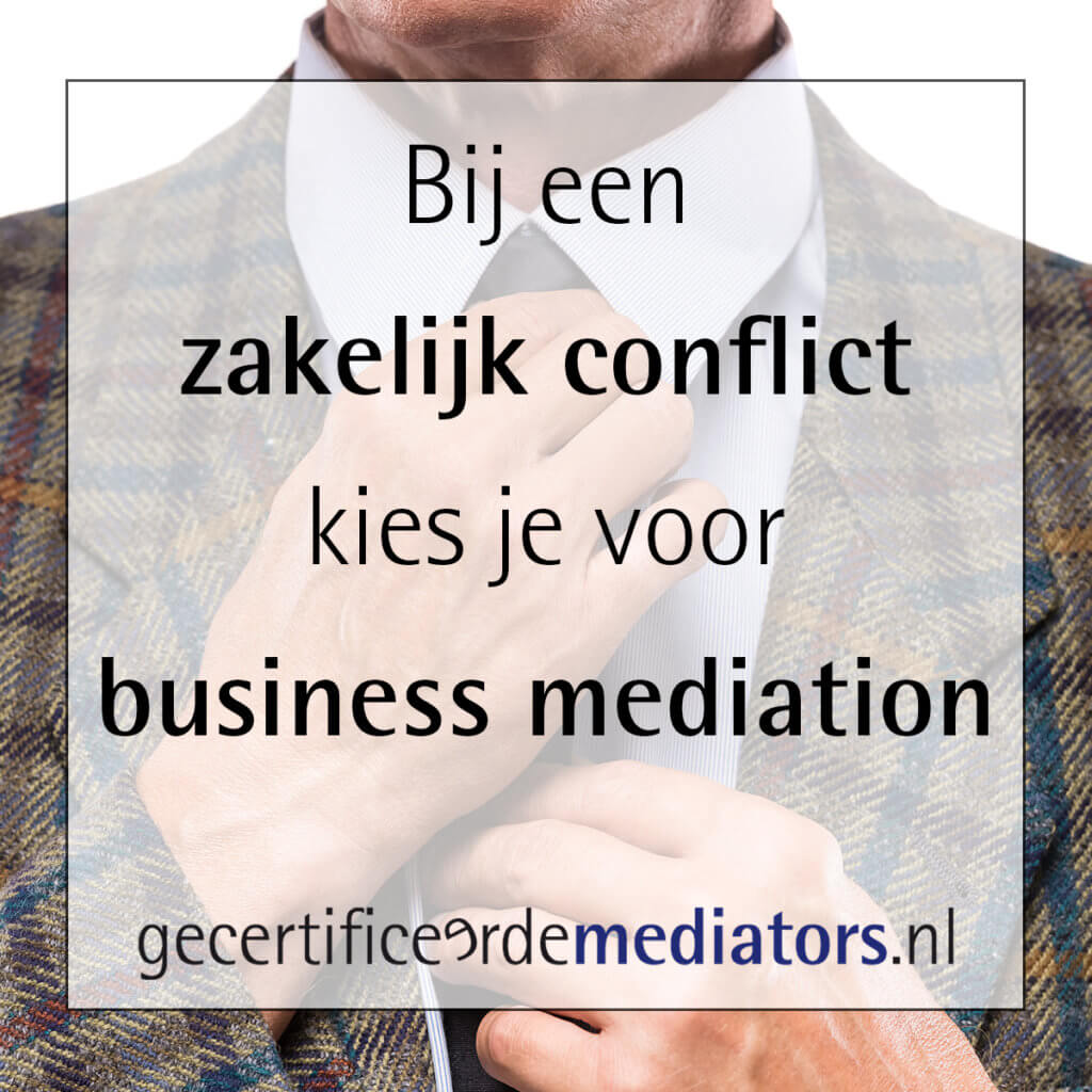 zakelijk conflict business mediation