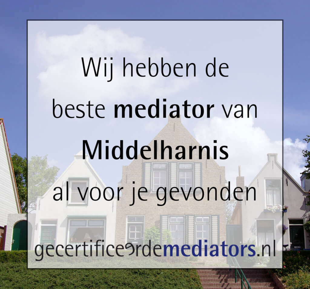 mediator middelharnis echtscheiding