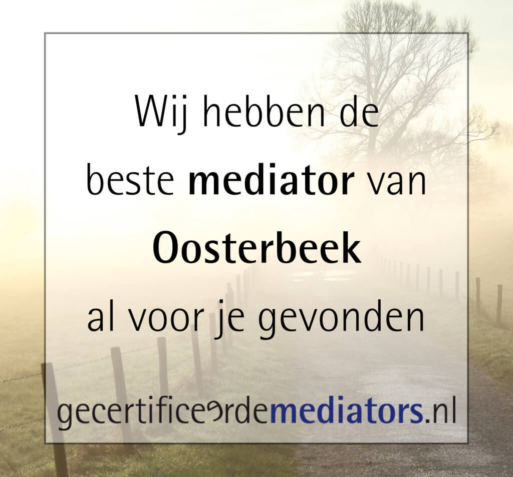 mediator oosterbeek echtscheiding