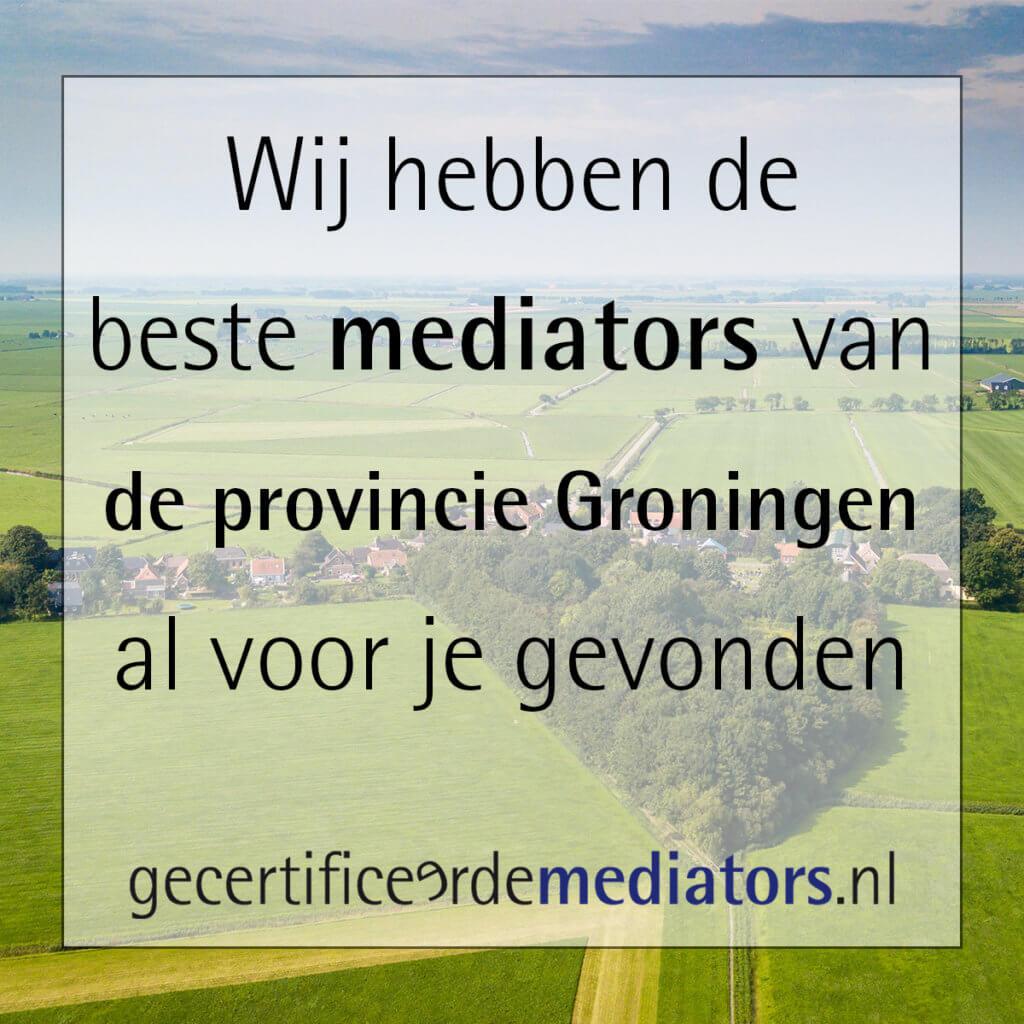 mediator provincie groningen echtscheiding