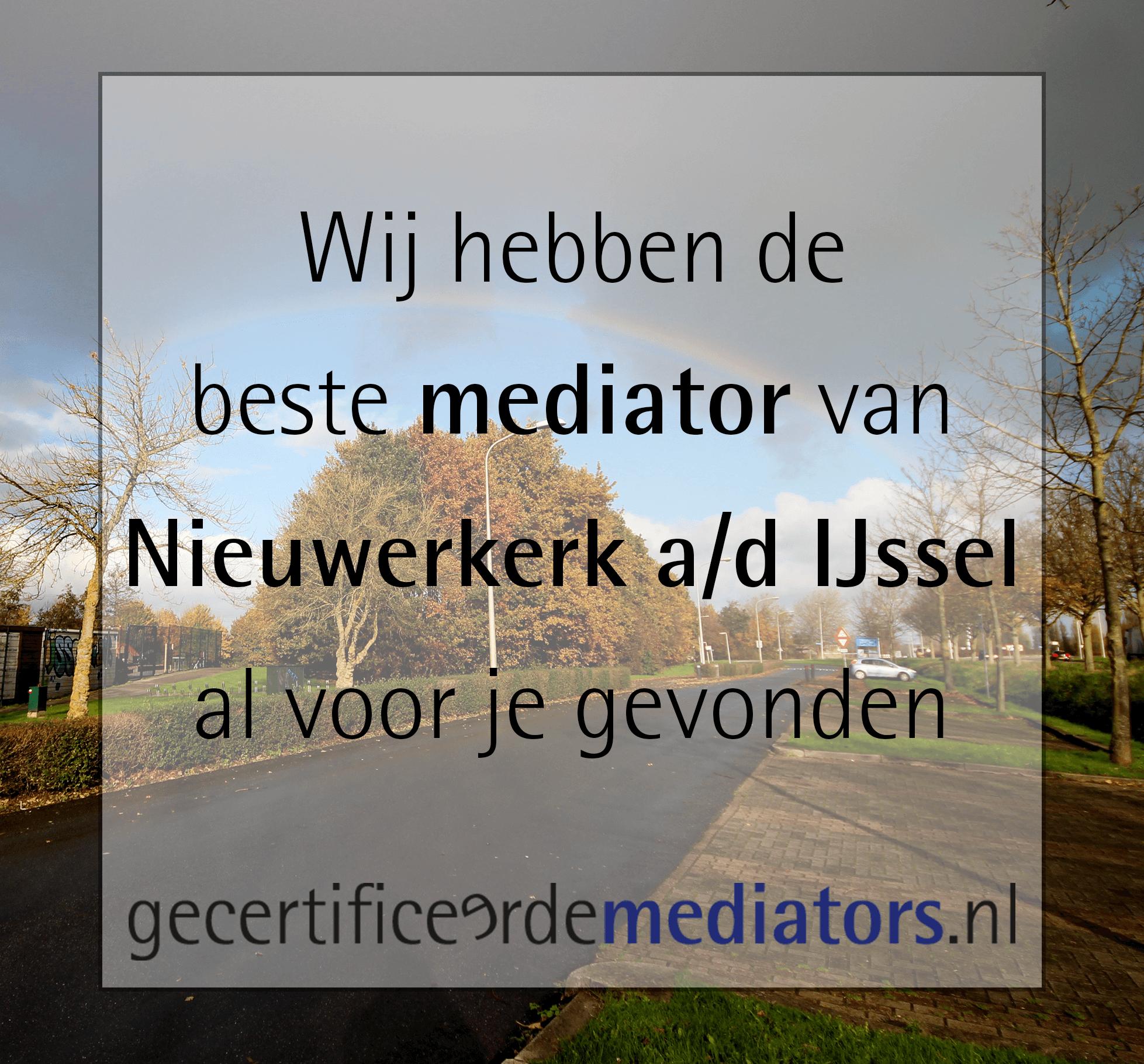 mediator Nieuwerkerk aan den IJssel