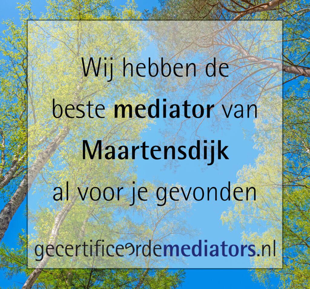 mediator maartensdijk echtscheiding