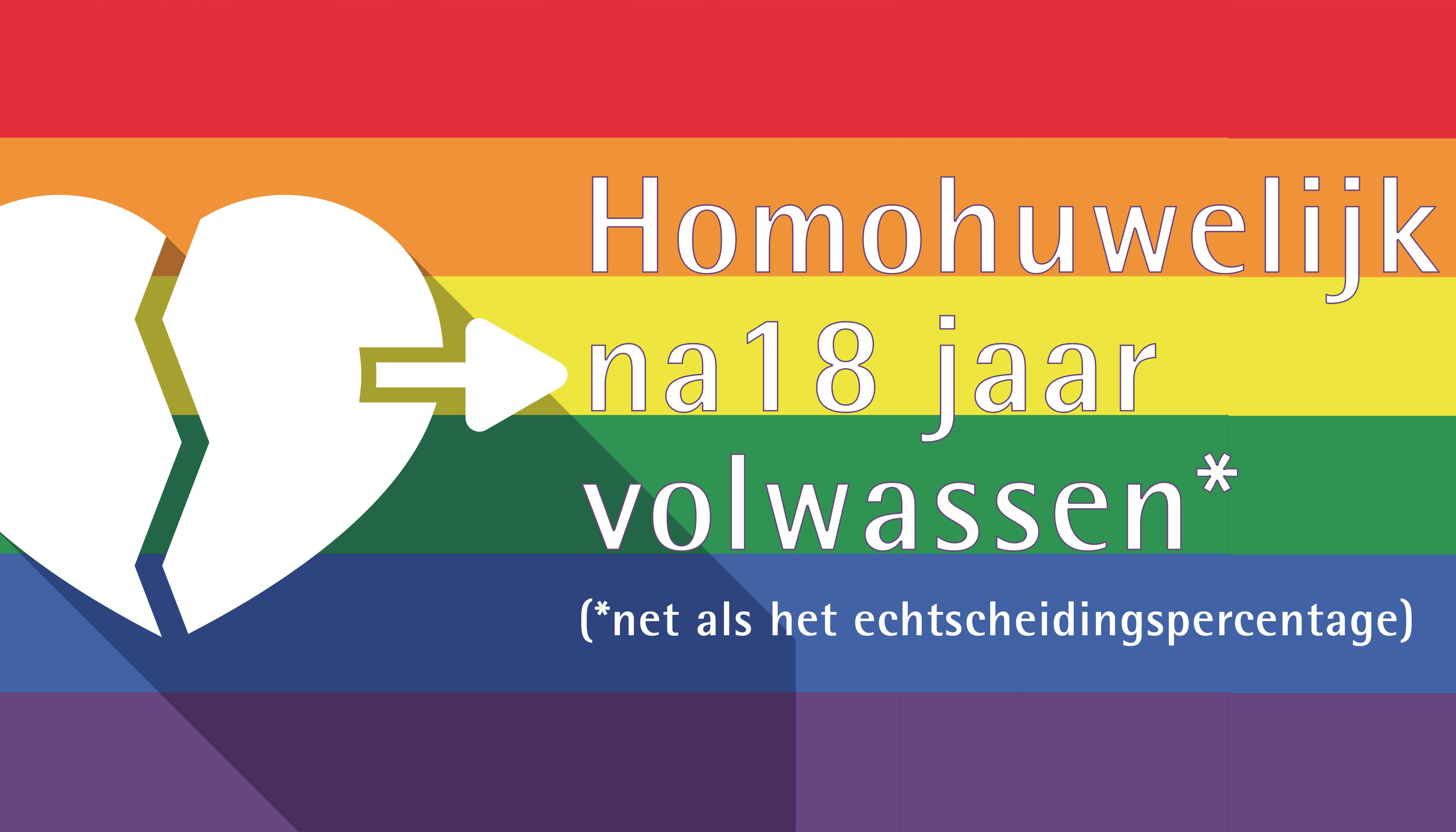 Homohuwelijk volwassen