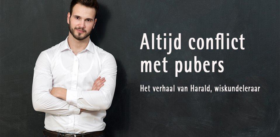 Altijd conflict met pubers | Het verhaal van Harald, wiskundeleraar