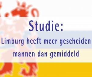 Studie: Limburg heeft meer gescheiden mannen dan gemiddeld