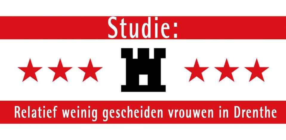 Studie: Relatief weinig gescheiden vrouwen in Drenthe