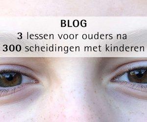 3 lessen voor ouders na 300 scheidingen met kinderen
