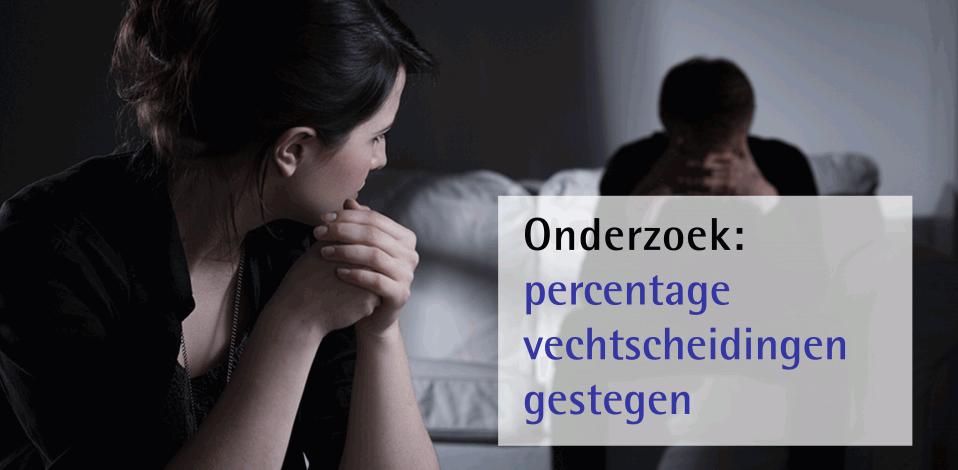 Onderzoek: percentage vechtscheidingen gestegen